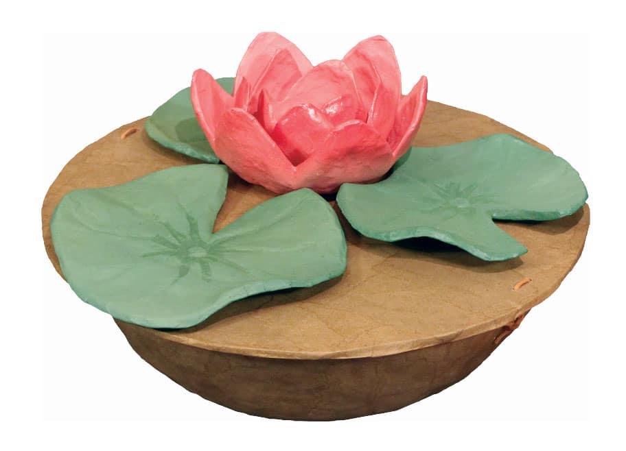 Water soluble Lotus Urn