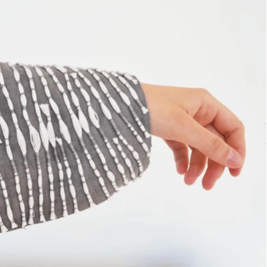 Hand in sleeve