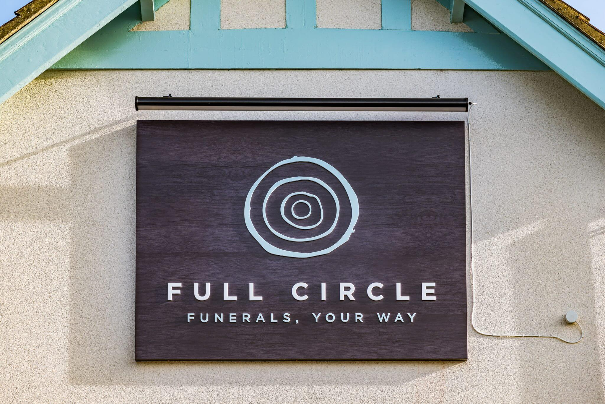 Full Circle sign