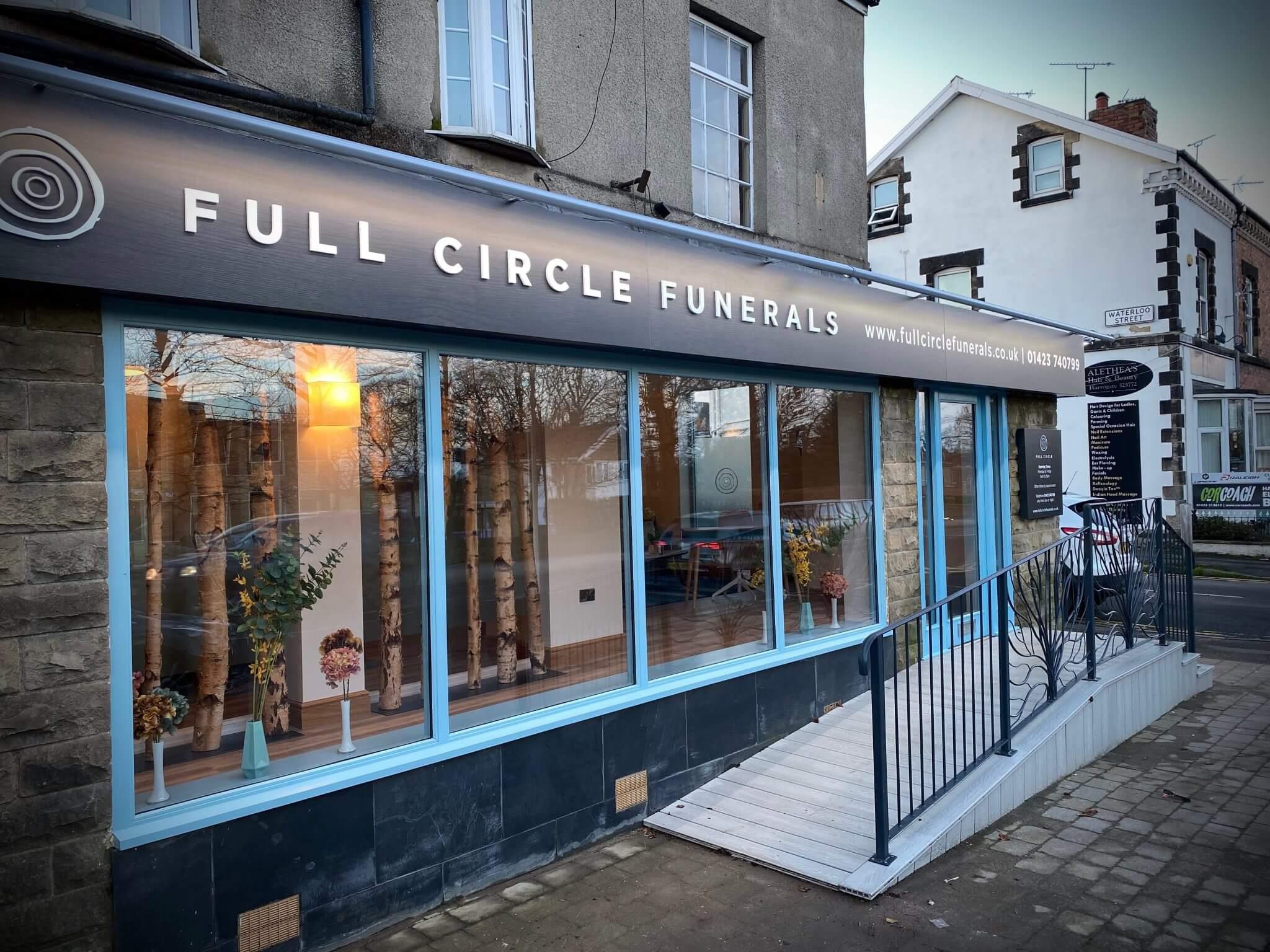 Full circle funerals knaresborough