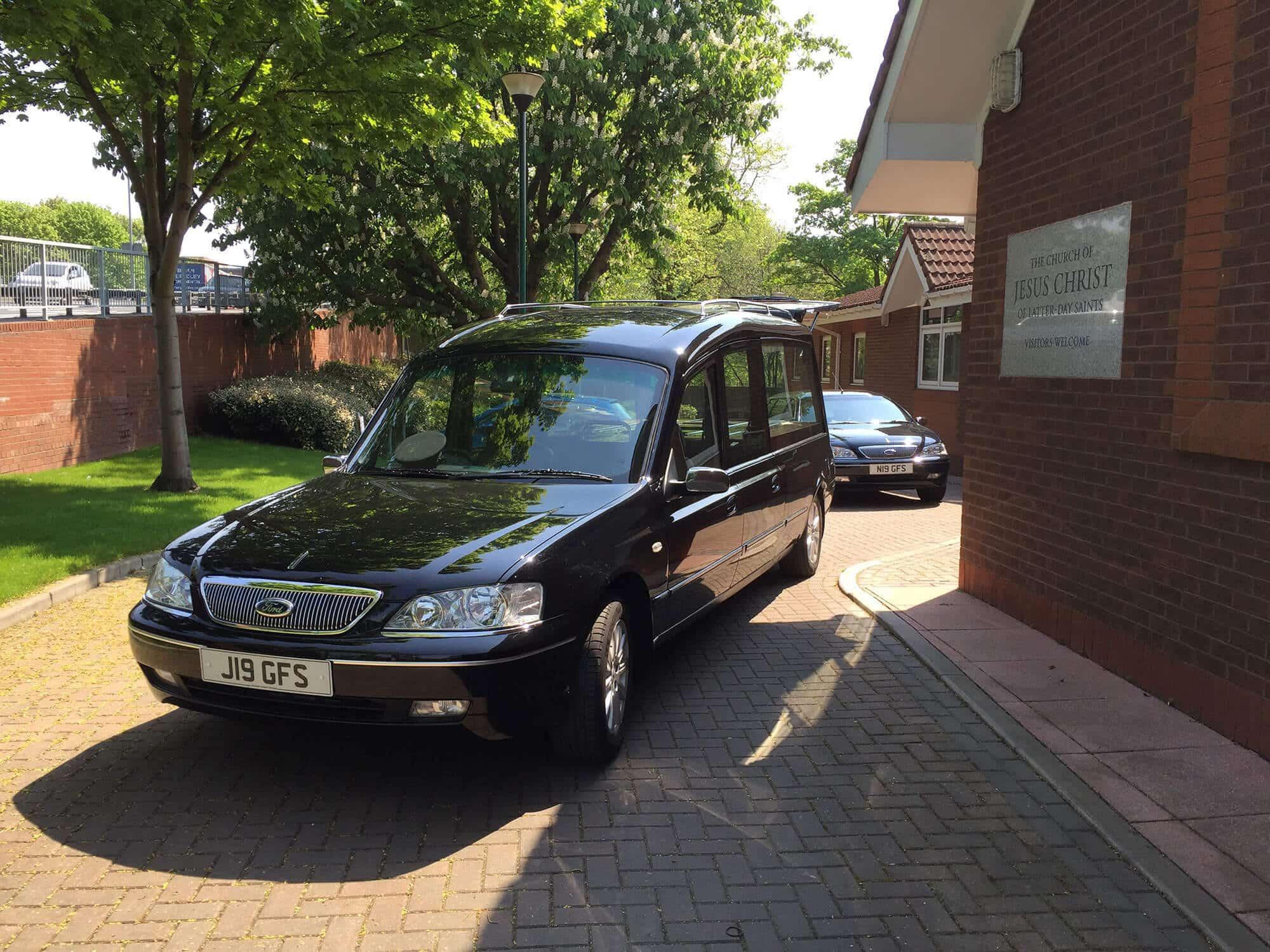 Standard hearse