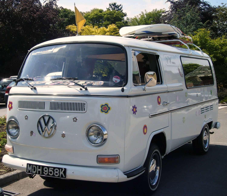 VW bug hearse